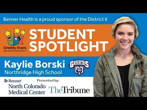 Student Spotlight: Kaylie Borski