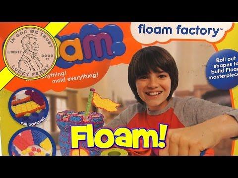 Nickelodeon Floam Factory 2012 & Bonus Color Pack!