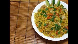 Spicy Canton Guisado - Vegetable Noodles - Filipino Food - Pinoy Recipes
