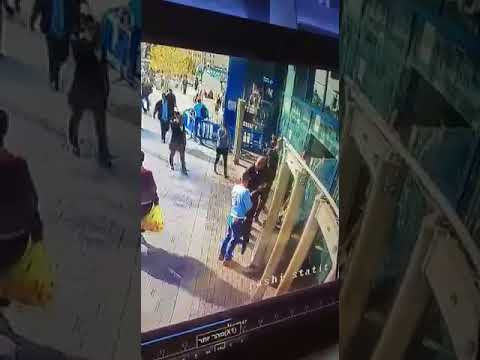 Security video shows stabbing attack (Media Resource Group)