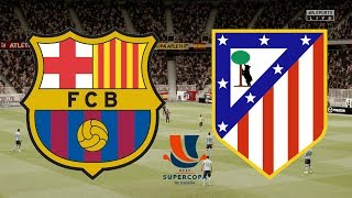... barcelona take on atletico madrid as both teams look to win and head sunda...