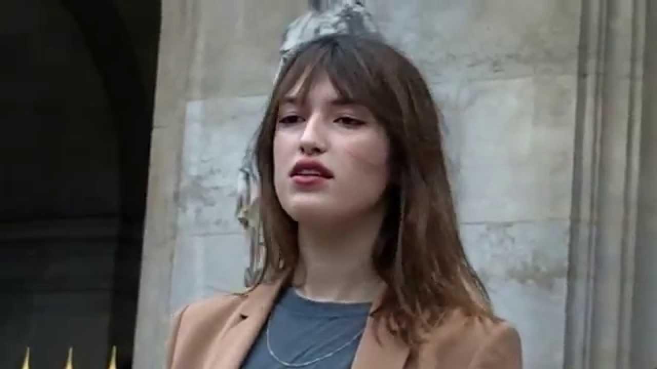 Jeanne DAMAS @ Paris 9 mars 2015 Fashion Week show Stella ...