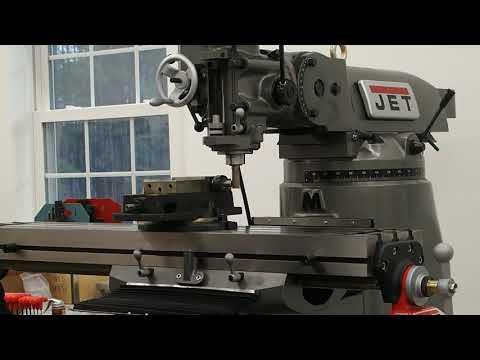 JET JTM-4VS-1 Vertical Milling Machine - First Chips