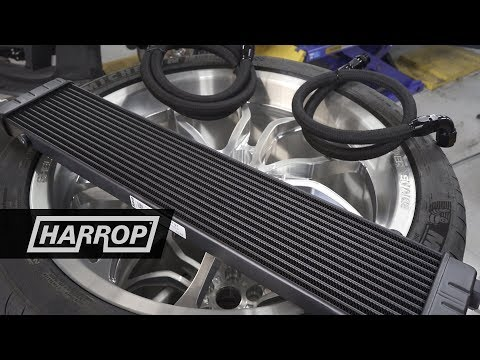 Ford Mustang GT | Harrop S550 Engine Oil Cooler Kit - YouTube