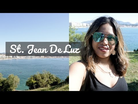 ST. JEAN DE LUZ FRANCE TRAVEL VLOG