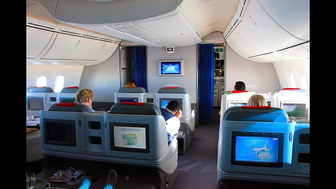 Lot 787 Lhr Waw Business Class Flight Experience Youtube
