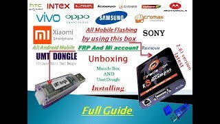 miracle box unboxing & umt dongle unboxing & installtion full Guide urdu tutorials/hindi tutorials