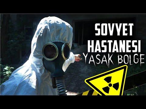 ÇERNOBİL - TERK EDİLMİŞ SOVYET HASTANESİ!