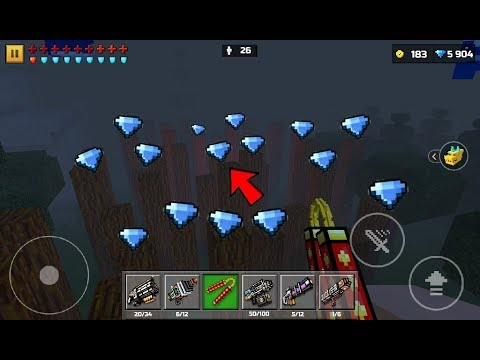 Pixel Gun 3D - All Secret Coins & Gems (iOS,Android)