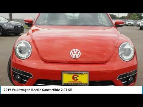 2019 Volkswagen Beetle Convertible 2019 Volkswagen Beetle Convertible 2.0T SE FOR SALE in Bakersfiel