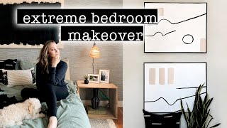 EXTREME BEDROOM MAKEOVER // TRANSFORMATION + Room Tour - Part 2 | XO, MaCenna