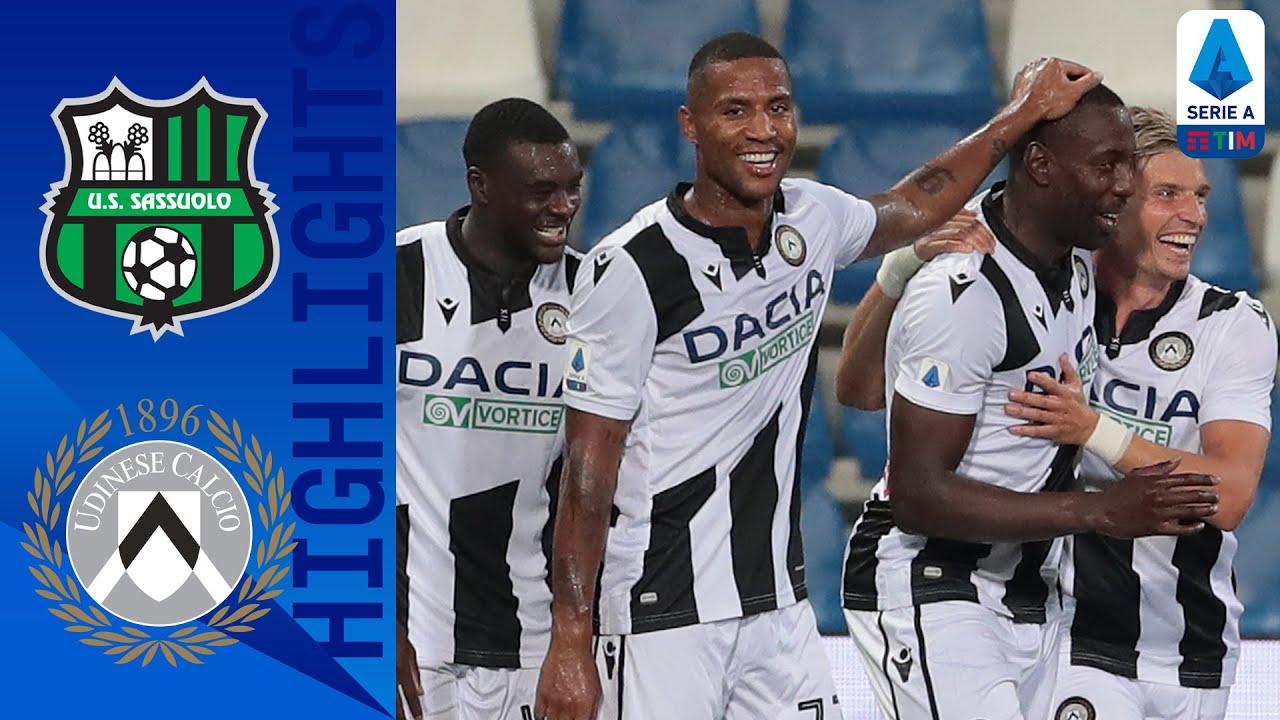 Prediksi Udinese vs Sassuolo 7 Maret 2021