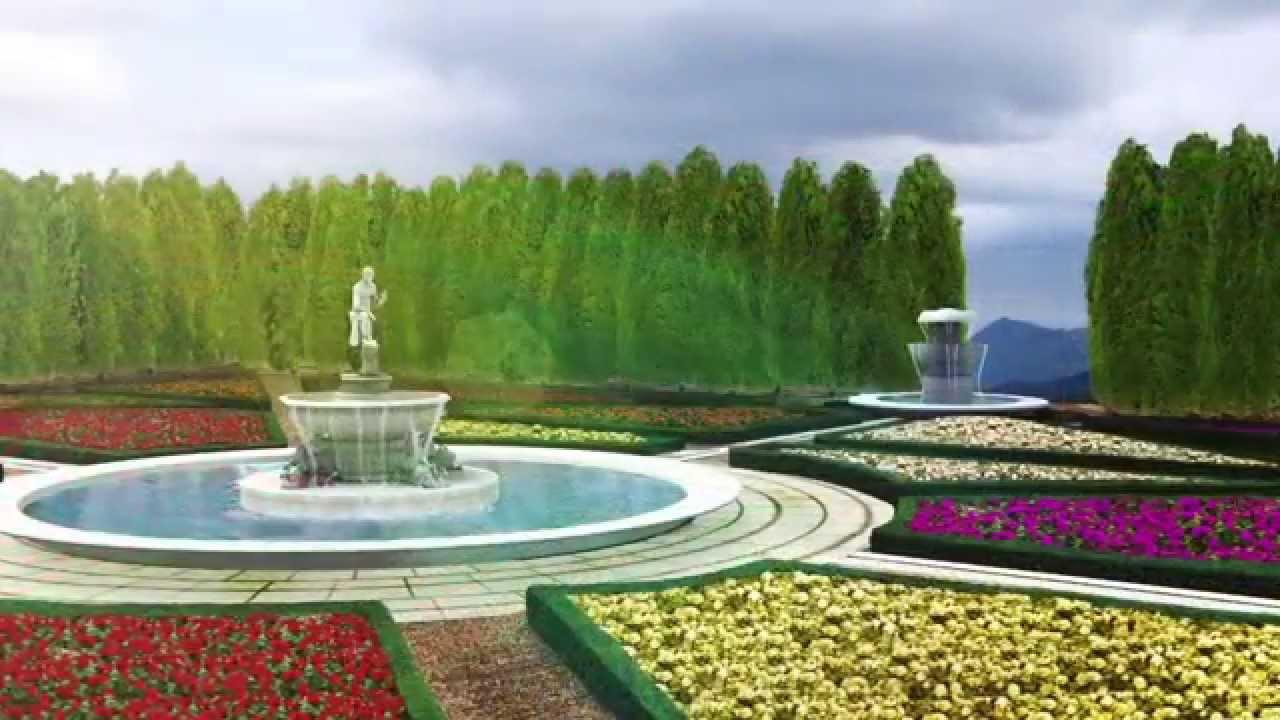Jardines de m xico jard n italiano recorrido virtual 3d for Jardines mexico