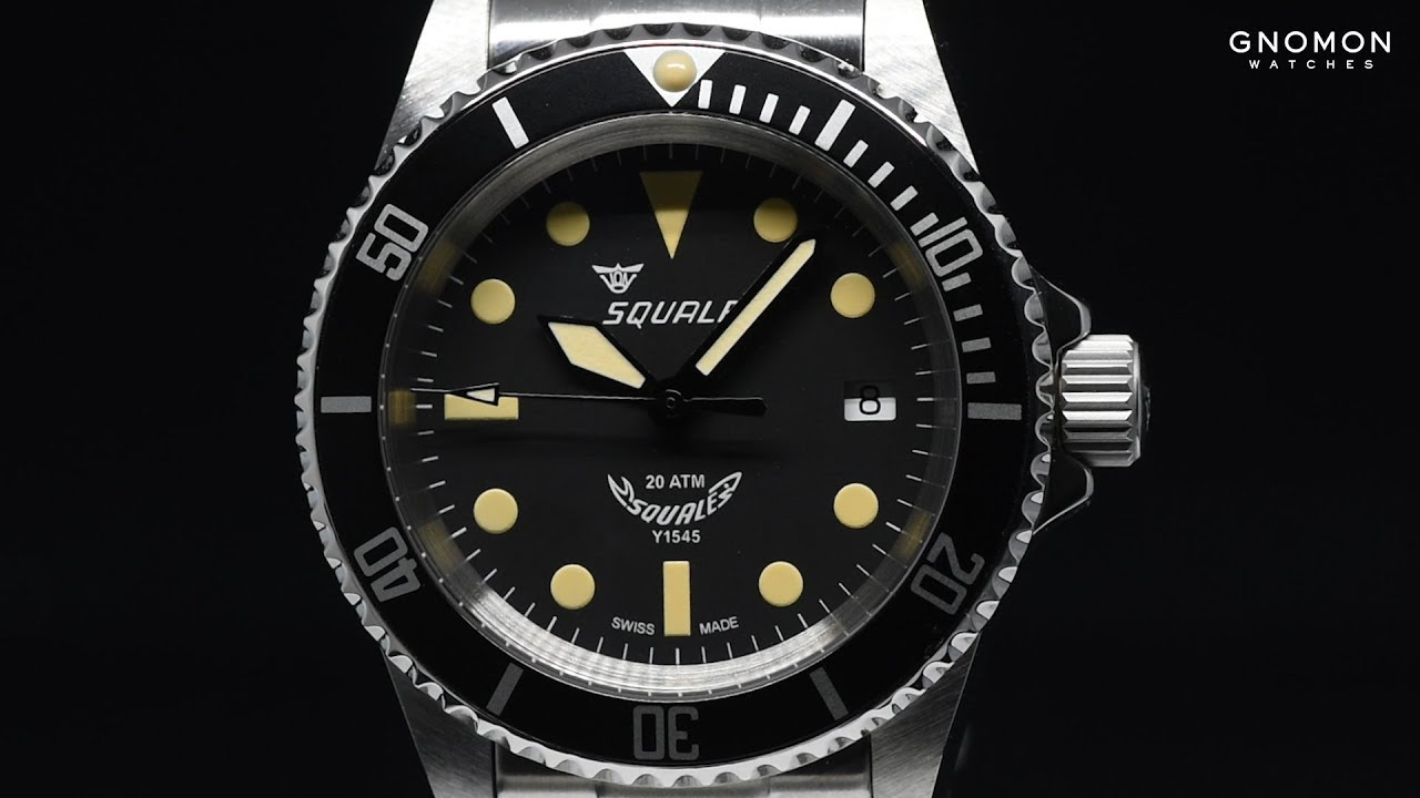 wrist ebay legendary watch youtube watches of the on talk heritage atmos a squale hunting