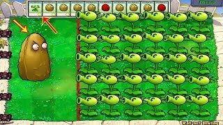 Plants vs Zombies Hack - Peashooter vs Gargantuar Zombie vs Dr. Zomboss