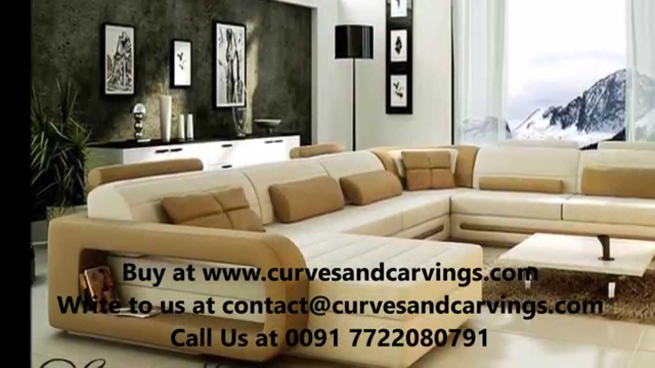 Delightful Buy Designer Luxury Sofas Online In India