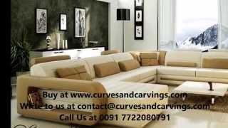Buy Designer Luxury Sofas Online In India