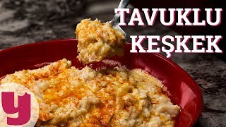 Tavuklu Keşkek Tarifi (Sakız Kıvamında!) | Yemek.com