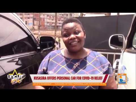 Catherine Kusasira offers personal car for COVID-19 relief  Uncut