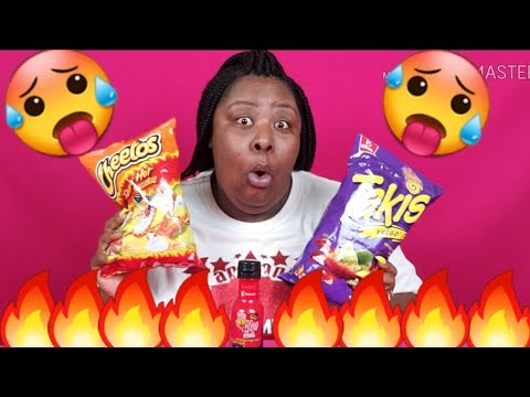 2x-spicy-takis-&-flamin-hot-cheetos-challenge-by-prissy-p- -one-chip-challenge -fuego
