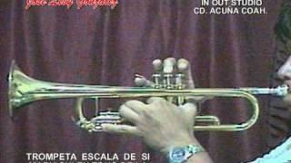 TOCANDO TEMAS INTROs de J.ALFREDO JIMENEZ TROMPETA SIb  IO STUDIO CD. ACUÑA COAH MX.