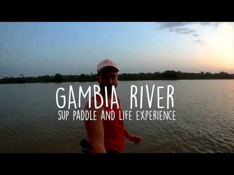 GAMBIA RIVER sup Paddle 2016