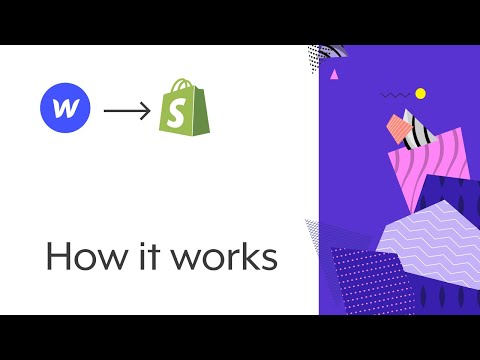 Create a Shopify Theme with Webflow | How the Udesly Adapter works for Shopify
