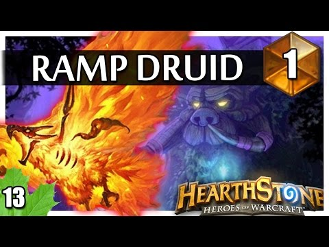 Hearthstone Ramp Druid with Druid of the Flame  #1