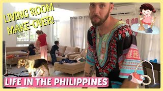 FINALLY NEW LIVING ROOM ARRANGEMENT & GENERAL CLEANING - LISTENING TO OUR SUBSCRIBER!