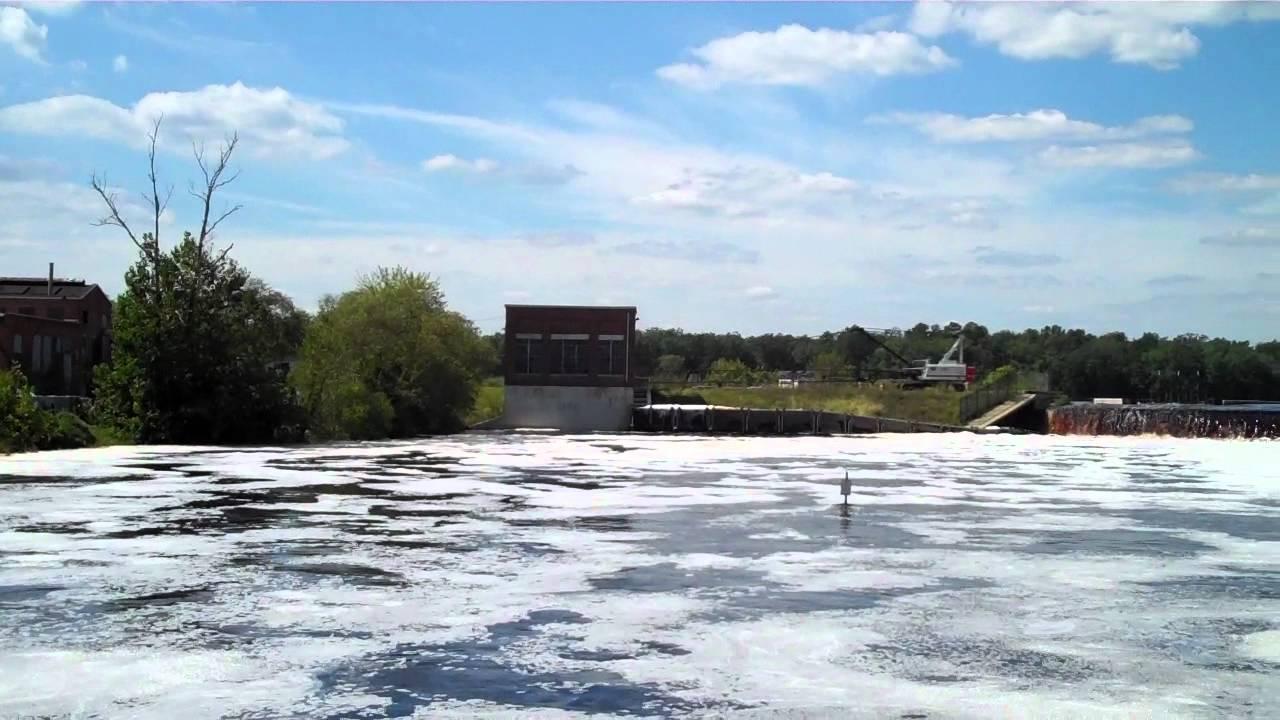 Lake Lenape Dam, near Mill Street and Lenape Avenue, Mays ...