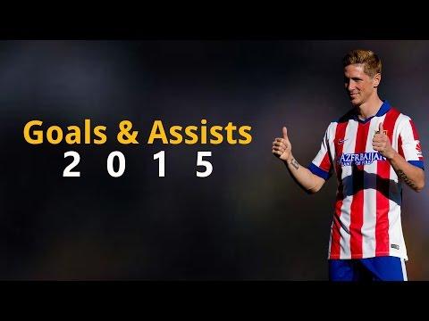 Fernando Torres ● Goals & Assists ● 2015 HD