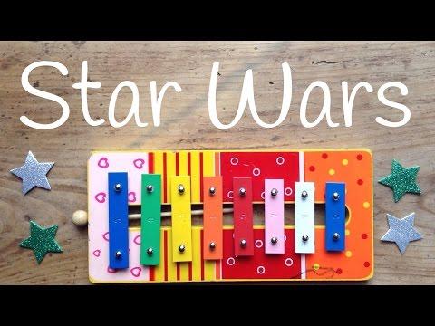 Cómo tocar Star Wars con xilófono que la fuerza te acompañe