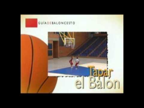 Baloncesto - Tapar el balón