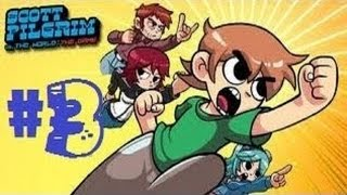 Scott Pilgrim vs. The World [HD] Co-op Playthrough on the Xbox 360 ...