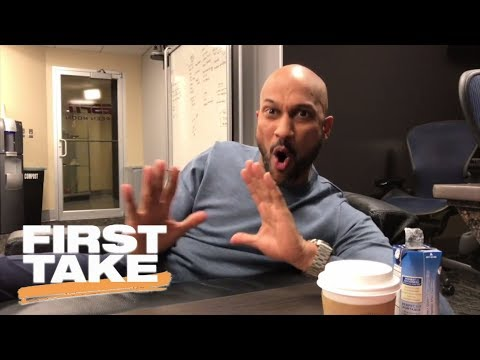Keegan-Michael Key Does Perfect Impression Of Stephen A. Smith | First Take | ESPN