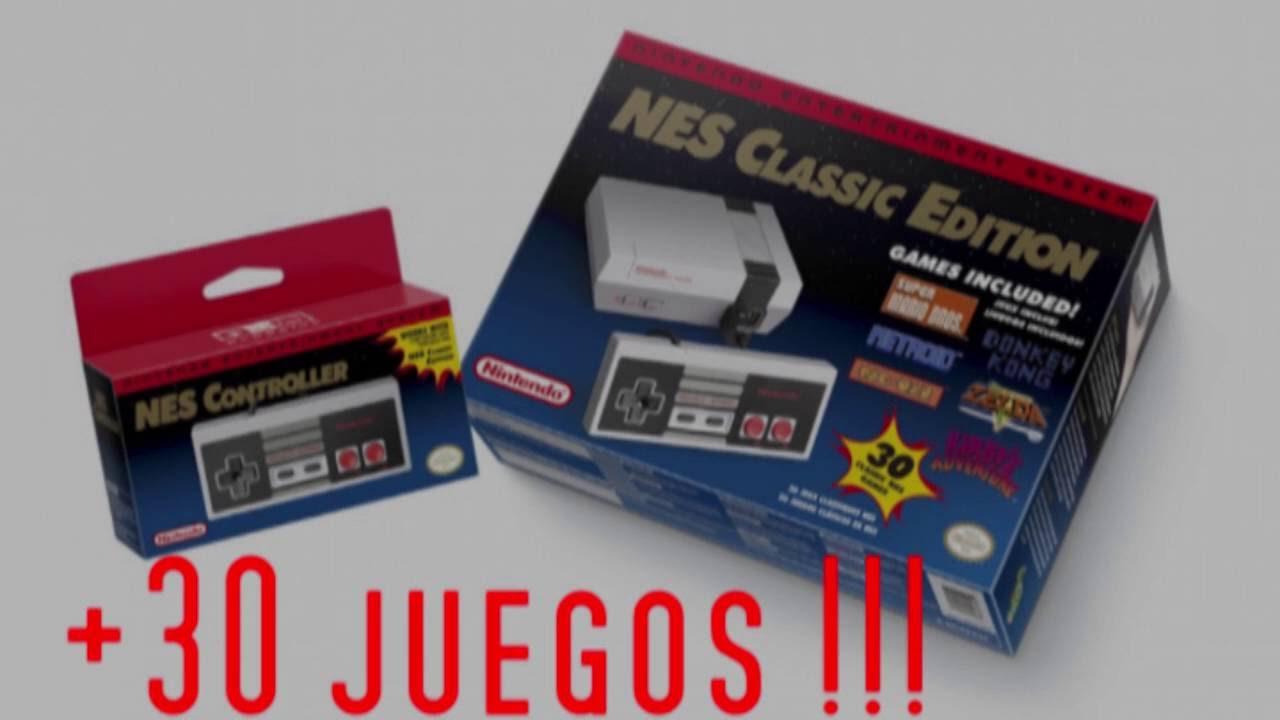 Los 30 Juegos Del Nuevo Nintendo Nes Classic Edition Youtube