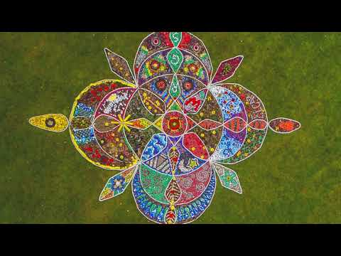 Meadow Arts Mandala with Kate Raggett at RGS Worcester