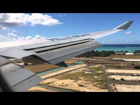 korean air landing at honolulu international airport