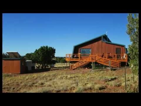 Wind And Solar Off-Grid House That Rotates 360 Degrees For A View