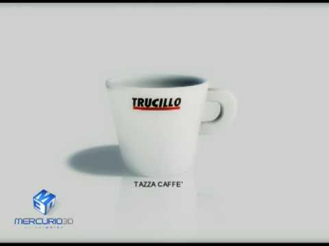 Tazzina di caffé Trucillo 3d