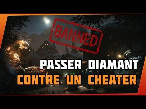 GAGNER ET PASSER DIAMANT CONTRE UN CHEATER  ! - Rainbow Six Siege