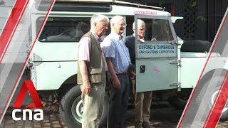 Nostalgic send-off for British men on Singapore-London road trip