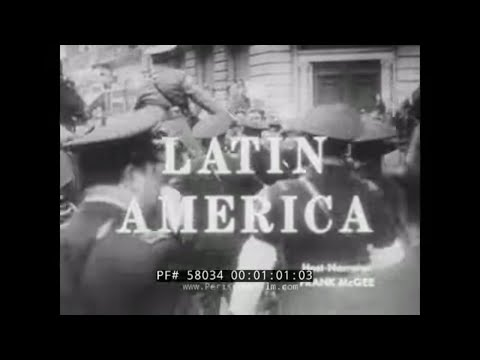 1960s AMERICAN VIEW OF LATIN AMERICA   FIDEL CASTRO & CUBAN REVOLUTION 58034