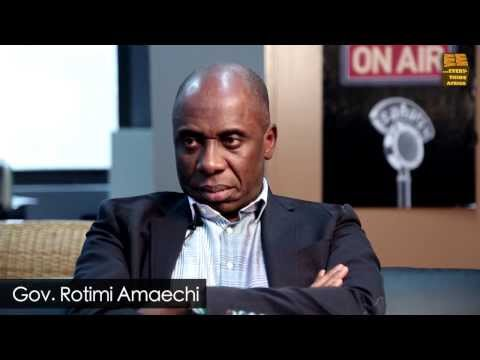 """They Want To Kill Me"" - Sound Off With Gov. Rotimi Amaechi"