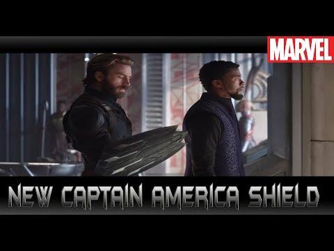 โล่ใหม่ Captain Americaใน Infinity War! - Comic World Daily