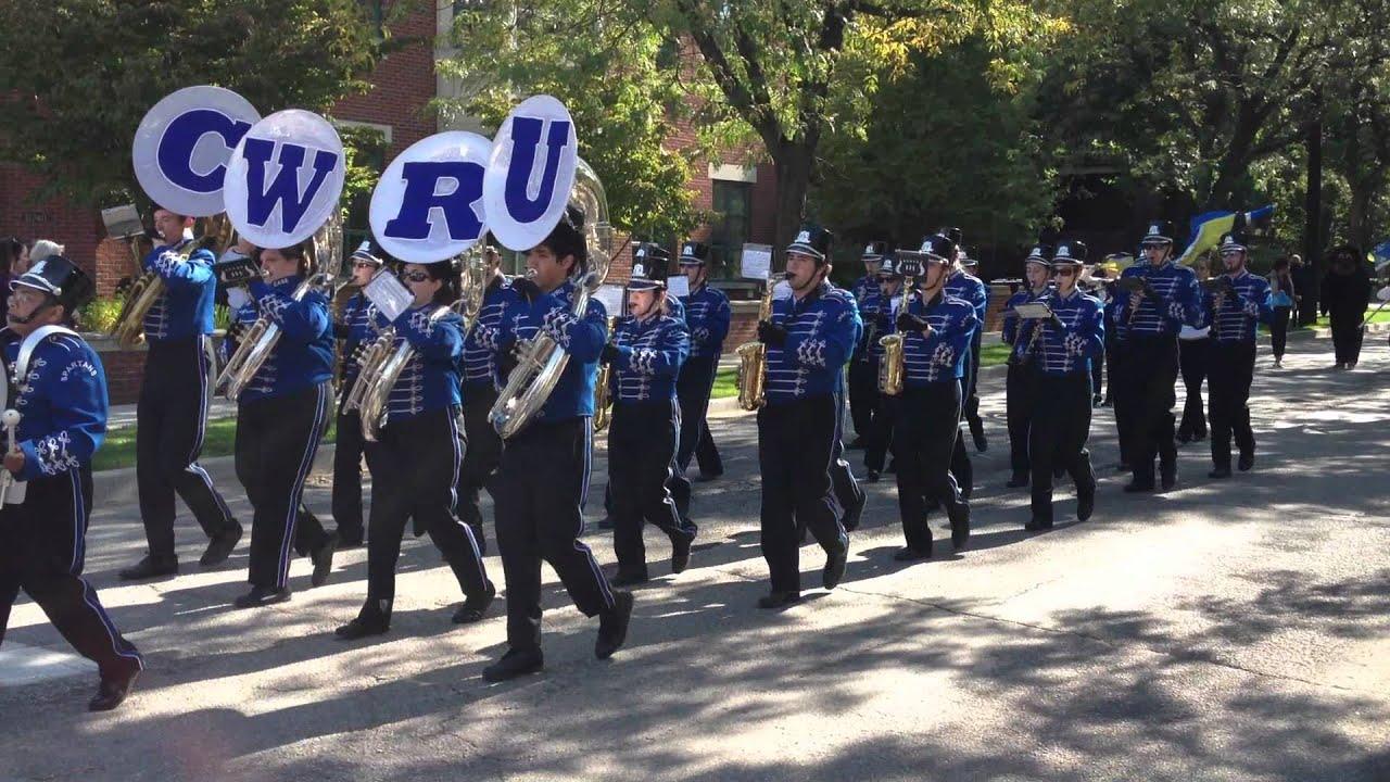 case western reserve university marching band youtube