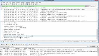 Fixing Window Scaling Analysis Issues Wireshark 2.0
