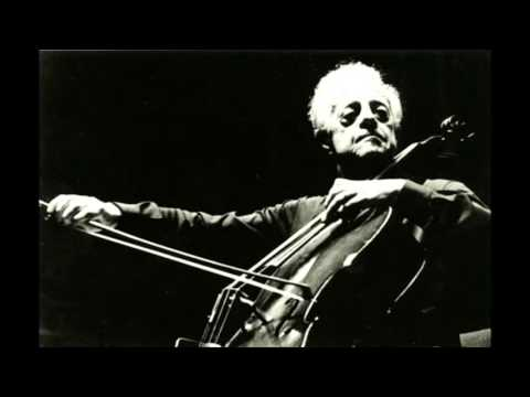 André Navarra and Alfred Holecek play Prokofiev. Cello Sonata in C major, op. 119 (1958, from LP)