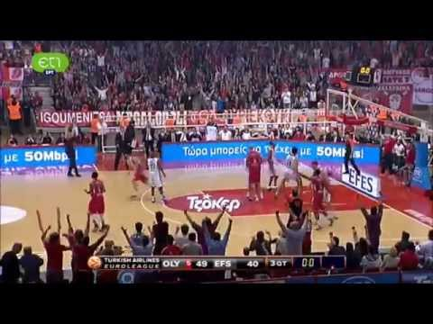 Olympiαkos euroleague 2013 best moments