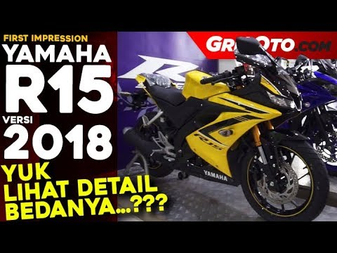 Yamaha R15 2018 l First Impression l GridOto